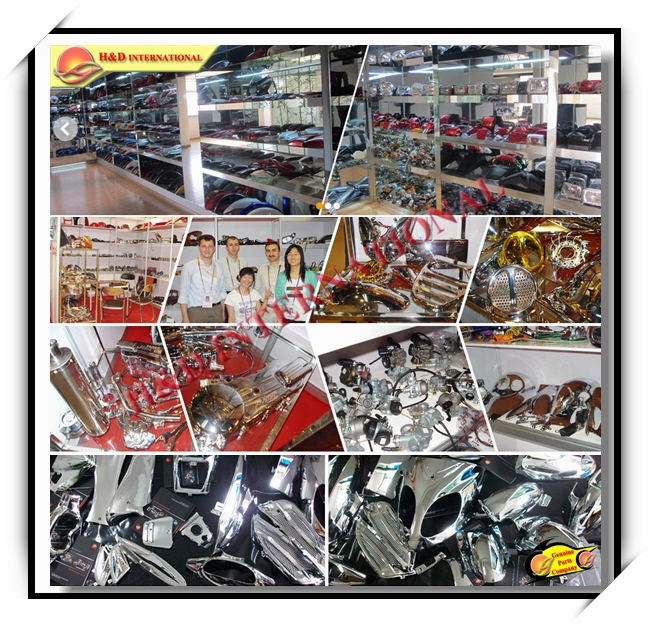 Factory direct selling wholesale Chinese motorcycle spare parts for various models motorcycle spare parts