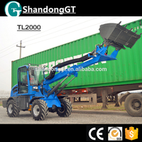 CE extend telescopic boom wheel loader