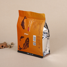 Wholesale Prices Aluminum Foil Stand Up Zipper Pouch Flat Bottom Food Packaging Bag