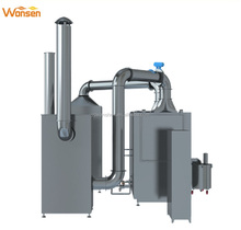 High efficient pharmaceutical sugar /candy/chocolate/peanut/tablet coating machine with CIP