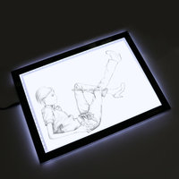 "Wholesale Emeno A3 LED Ultra-thin Light Tracer Artcraft Tracing Light Pad Light Box - 12.20"" X 16.93"" with Acrylics"