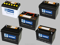 Most reliable Automotive Car Battery with best price made in china of 12v60AH