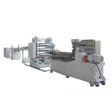 PP PVC PET Waste / Recycle Plastic Pipe Production Line / PVC Sheet Extruder