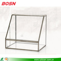 Designed specifically hot sale clear acrylic with metal makeup display organizer