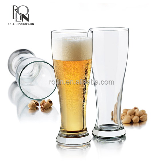 High Quality Drinking Glassware Wine Glass Cup Wheat Beer Glass