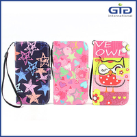 [GGIT] Universal pu leather flip cover case, 6 sizes to choose, universal wallter case for cellphone with back window