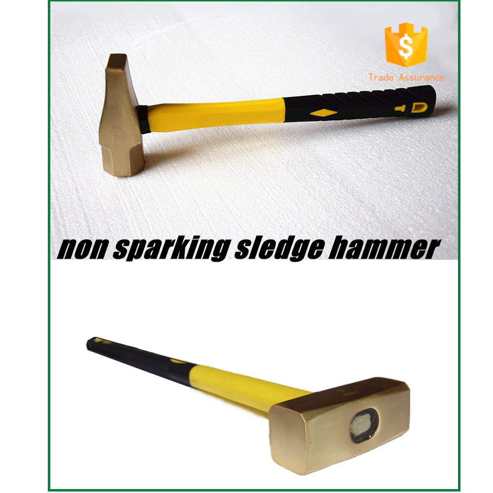 sparkless hamme german type mine octagonal edge hammer with handle