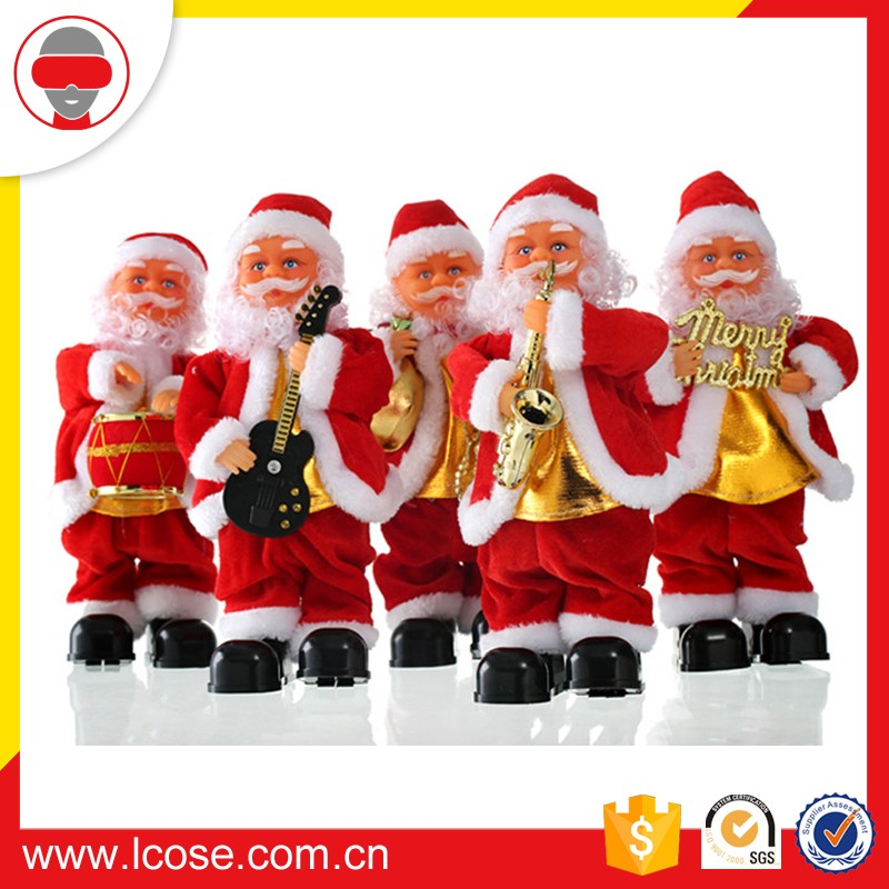 Lcose Children's Gift Dancing Christmas Santa with Music