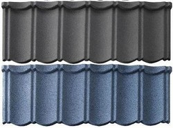 Stone Coated Metal Roof Tile / Colored Stone Coated Steel Roof Tile