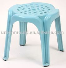 Round plastic chair folding children stool mould
