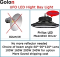 240W 200W 160W LED light for tennis sport court replacement 1000w metal halide 130Lm/W