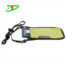 New Design To Market USA Ripstop Hanging Wallets, Travel Rfid Blocking Passport Pouch