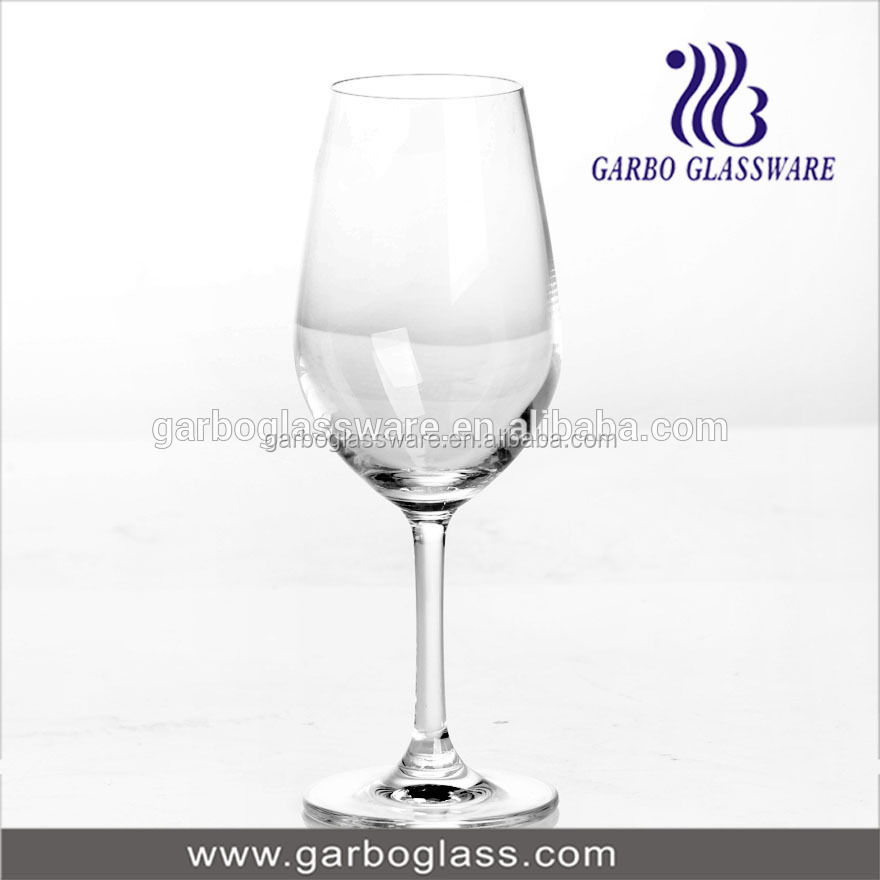 Good quality blowing cheap goblet wine glass clear goblet