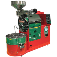 Small Coffee Roaster Machines Gas Or Electric Commercial 1kg Small Home Coffee Roaster For Sale