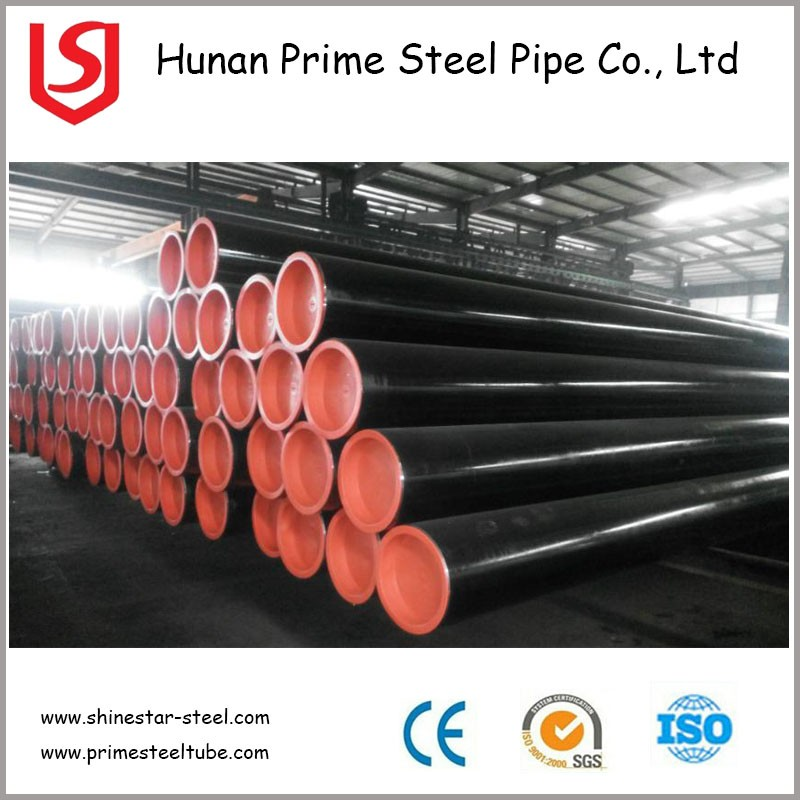 K55 N80 API 5CT black iron pipe / carbon steel pipe specifications