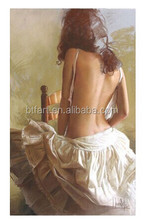 Handpainted Womens Oil Painting Hot Sex Images art painting