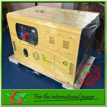 8kva silent diesel generator Electric dynamo price list with Air cooled engine 2 cylinder electricity generator 8kw power