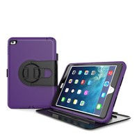 Pu Hard Kickstand Dustproof 9.6 Inch Tablet Case For iPad Mini4