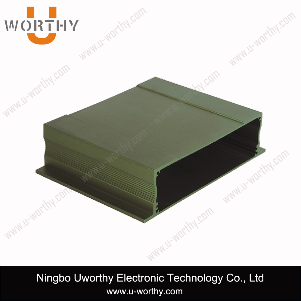 Aluminium External Enclosure for Electronics PCB Board with Front and Rear Plates