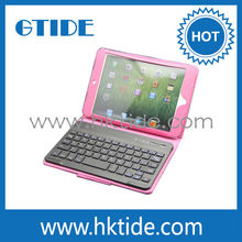 "Fancy customized charming pink 7"" Samsung tablet PC wireless bluetooth keyboard"