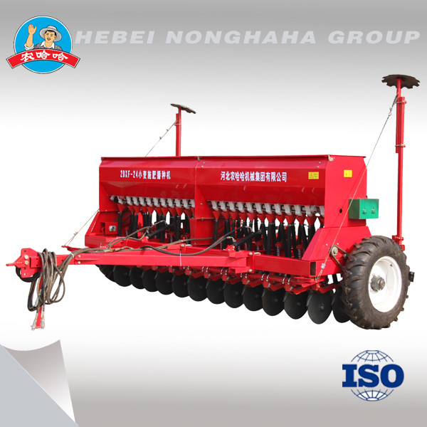 2BXF-24 hydraulic traction wheat seeder, rice seeder, seeder