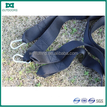 Firm durable hammock tree straps