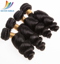 Factory Wholesale High Quality 100% Natural Virgin Human Brazilian Hair Bundles 1pc a lot