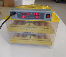 Newest CE approved broiler hatching eggs machine for 96 eggs