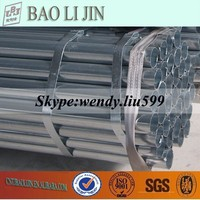 42mm Cold Galvanizing Carbon Iron Pipe