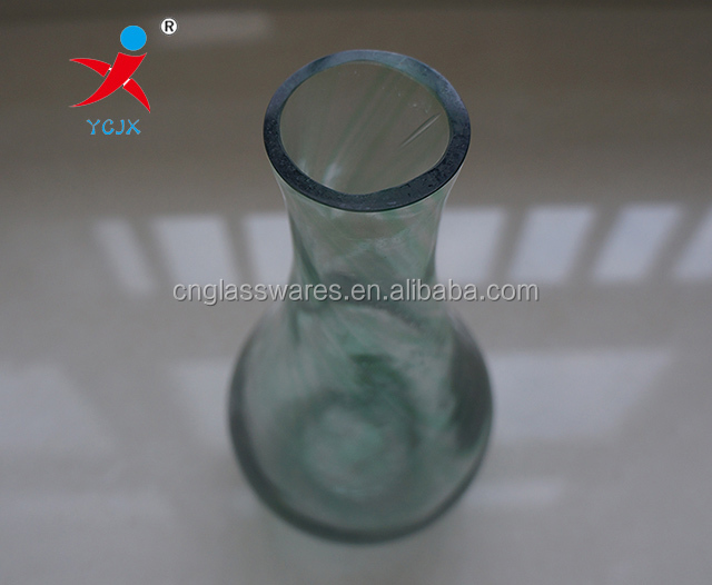 Common glass flower base for house decoration