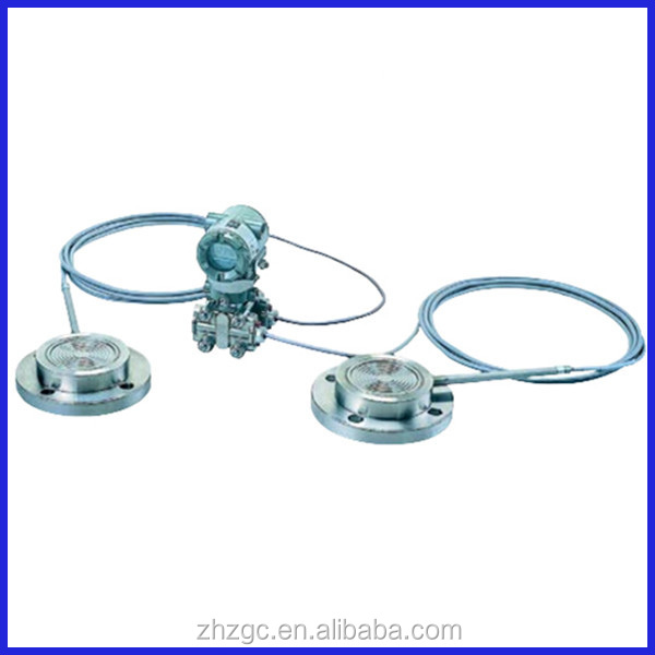 Combination of Extended Diaphragm and Flush Diaphragm type EJA118Y Diaphragm Sealed Differential Pressure Transmitter