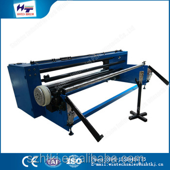 jumbo roll slitting and rewinder automatic equipment machine for nonwoven fabric