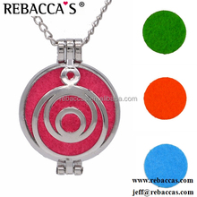 Hot Selling Classic Aromatherapy essential oil Diffuser Locket perfume Necklace Pendant