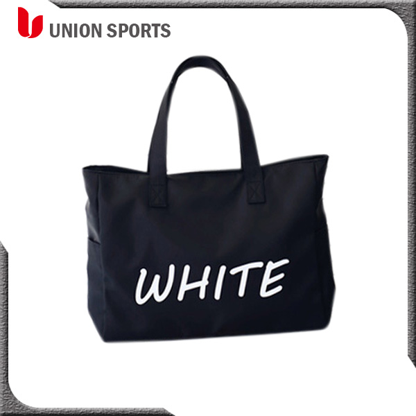 Water-resistant Nylon Girl Daily Tote Shopping Bag for Outdoor Weekend Travel