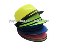 Fedora polyester felt hat with high quality