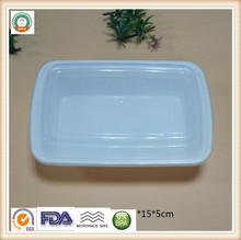 Food grade hard plastic food container Microwave safe food packaging box