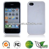 Factory Price Traditional Textile TPU case for iphone4/4S case