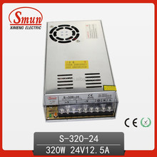 Smun 320W 24V 12.5A AC To DC Power Supply S-320-24