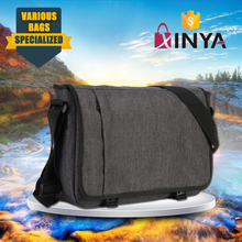 Durable polyester and PU laptop computer case with adjustable shoulder strap
