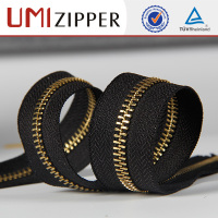 ensured quality clothing stylish zip roll insertion pin continuous zipper
