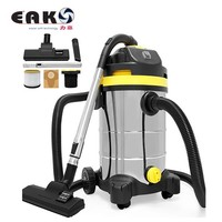 promotion stainless steel tank 30L ETL/GS/CE wet and dry vacuum cleaner new model