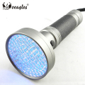 Retail 5W High Power 100 LED UV flashlight 395nm-400nm Black Light Purple LED 5W UV Flashlight