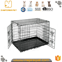 New Design outside square metal dog cage