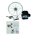 electric bike conversation kit 350W