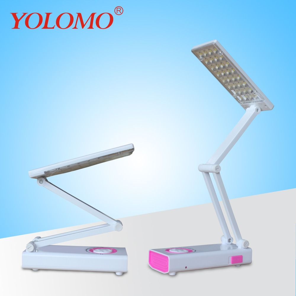 solar led rechargeable light desk lamp for children study