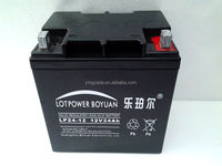Deep Cycle 12V 24ah VRLA 12V volte AGM deep cycle Battery
