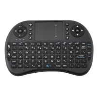 Mini Wireless Keyboard RF 2.4G Mouse Touchpad Design Handheld Keyboard for Multimedia Gaming PC Android TV Windows X-BOX Player