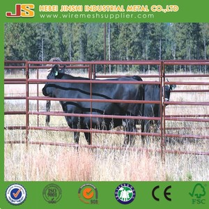 Livestock metal fence panels/cattle panels for sale/livestock feed pellet mill