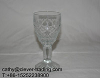 70ml high quality glass goblet