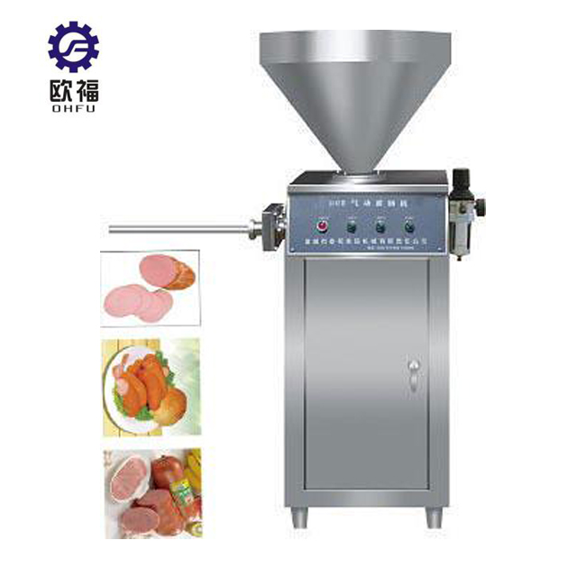 Vacuum Sausage Filler and Twister|Automatic Sausage Stuffing Machine